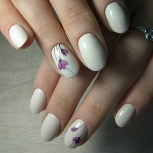 Рисунки на ногтях гель-лаком