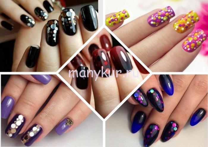 Камифубуки на ногтях: модные тенденции дизайна 2021, 100 фото